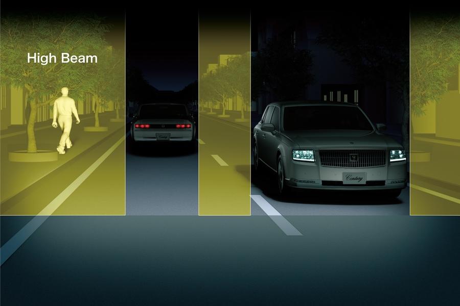 システム アダプティブ ハイビーム アダプティブハイビームシステム搭載車が対向車にも歩行者にも優しかった!